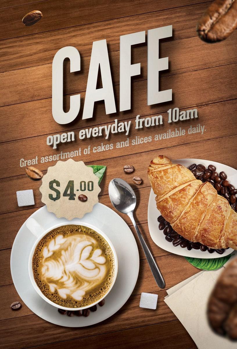 Cafe  Cairns Menu