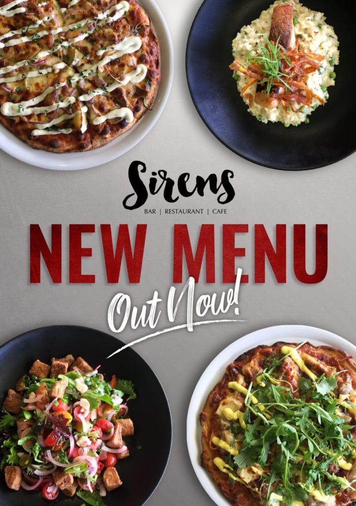 Sirens New Menu